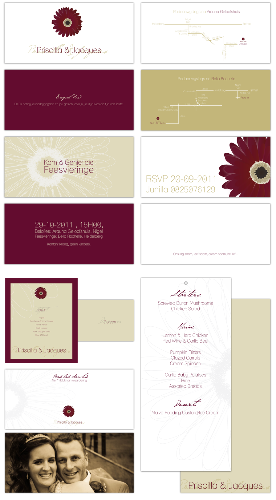 Wedding Stationary Design